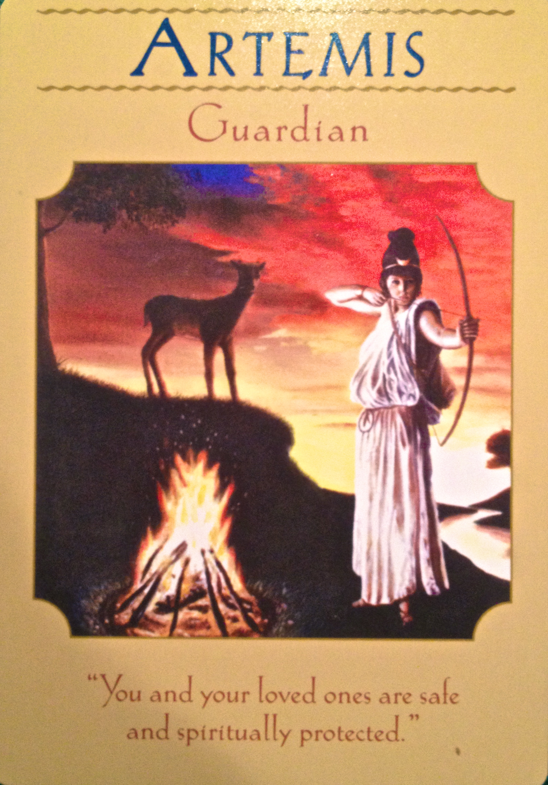 artemis guardian archangel oracle divine guidance