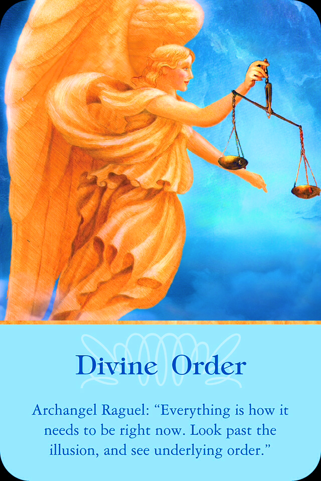 , from the Ascended Masters Oracle Card deck, by Doreen Virtue, Ph.D