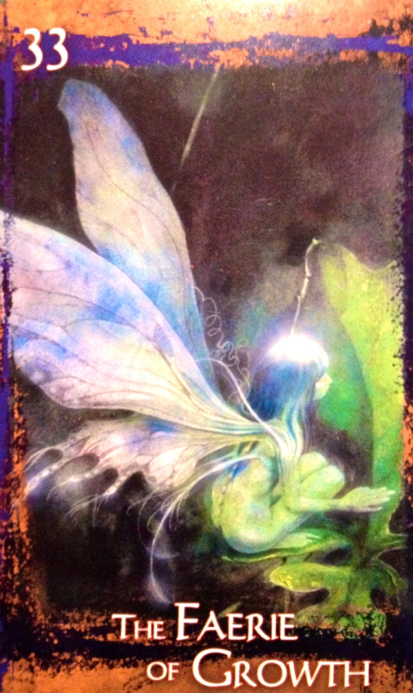 The Faery Of Growth, from The Heart Of Faery Oracle, by Brian and Wendy Froud