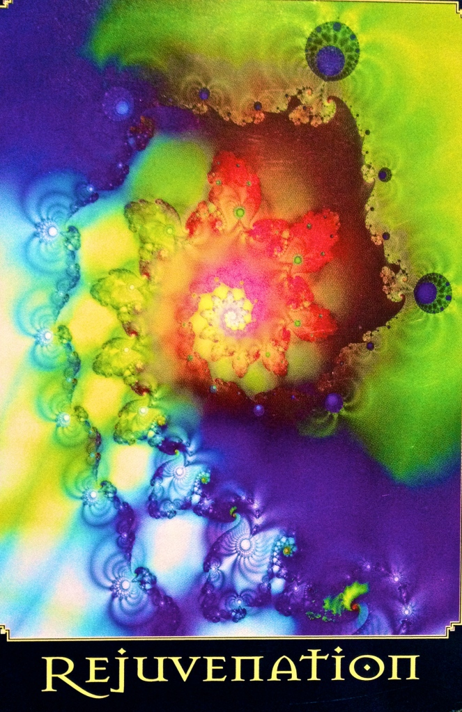 Rejuvenation, from the Return Of Spirit Oracle Card deck, by Cheryl Lee Harnish
