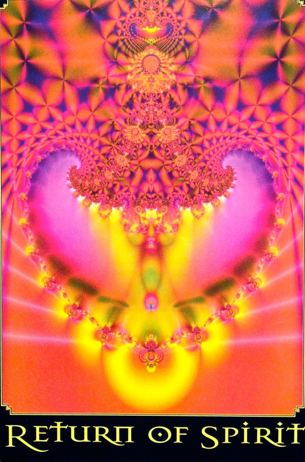 Return Of Spirit, from the Return Of Spirit Oracle Card deck, by Cheryl Lee Harnish