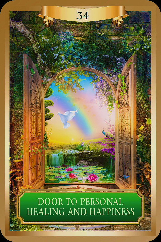 Door To Personal Healing And Happiness from the Energy Oracle Card deck by Sandra & Door To Personal Healing And Happiness | Archangel Oracle ~ Divine ...