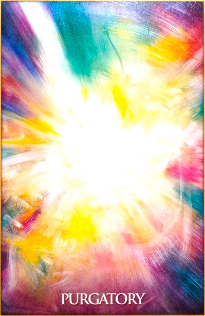 Purgatory, from the Magdalene Oracle Card deck, by Toni Carmine Salerno