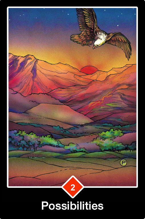 Possibilities, from the Osho Zen Tarot Card deck, by Osho