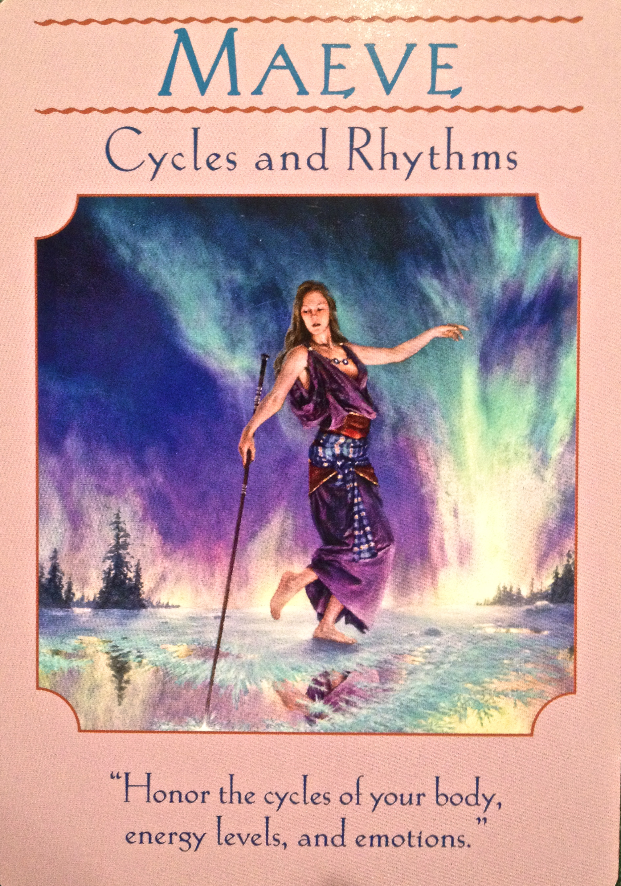 Oracle Card Accept Heaven S Help: Maeve ~ Cycles And Rhythms