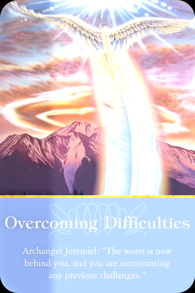 Archangel Jeremiel ~Overcoming Difficultie