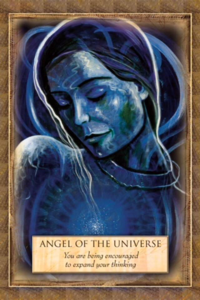 Angel Of the Universe ~ Expand, from the Angels, Gods and Goddesses, by Toni Carmine Salerno