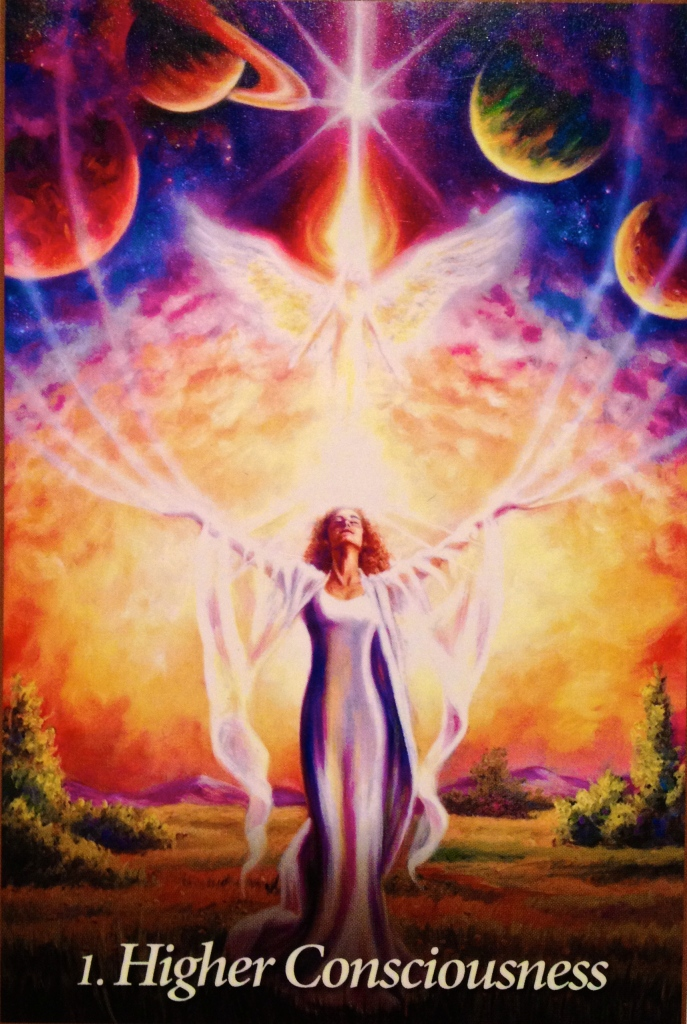 Higher Consciousness, from the Oracle Of The Angels, by Mario Duguay