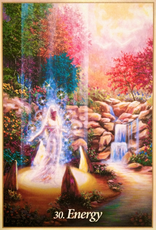 Energy, from the Oracle Of The Angels, by Martin Duguay