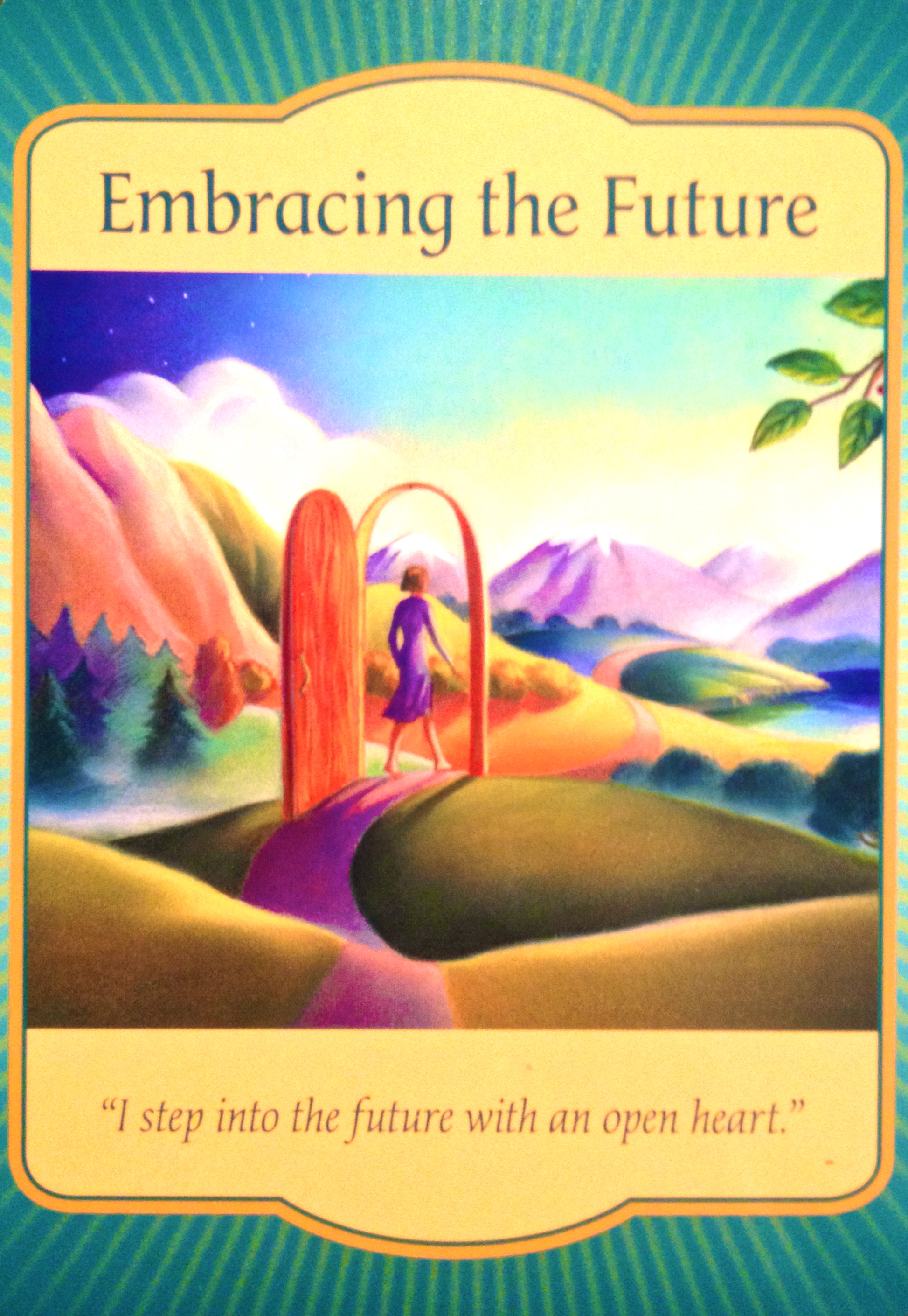 Oracle Card Accept Heaven S Help: Embracing The Future