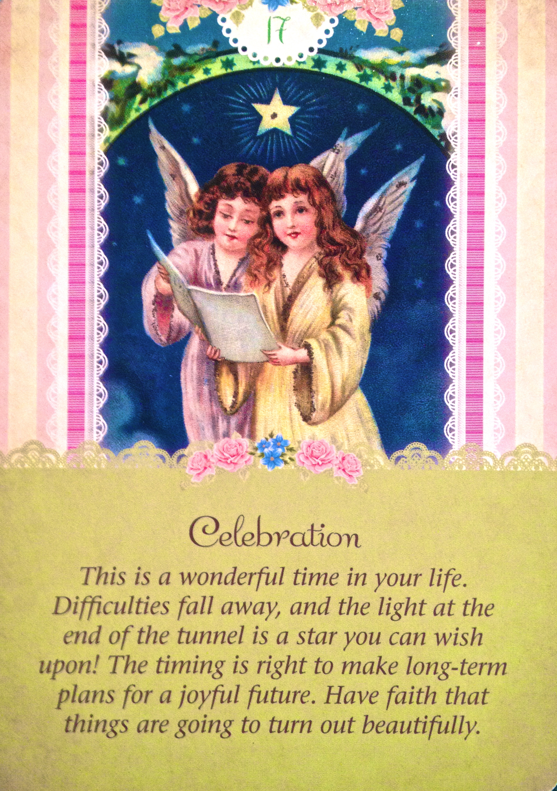 Celebration, From The Guardian Angel Oracle Card Deck, By Doreen Virtue Ph.D