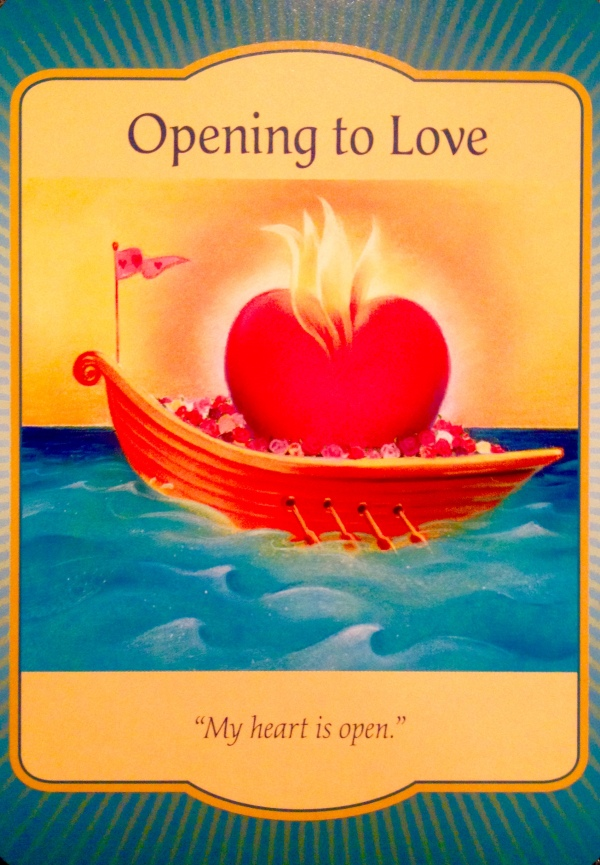 Opening to Love - Archangel Oracle Divine Guidance