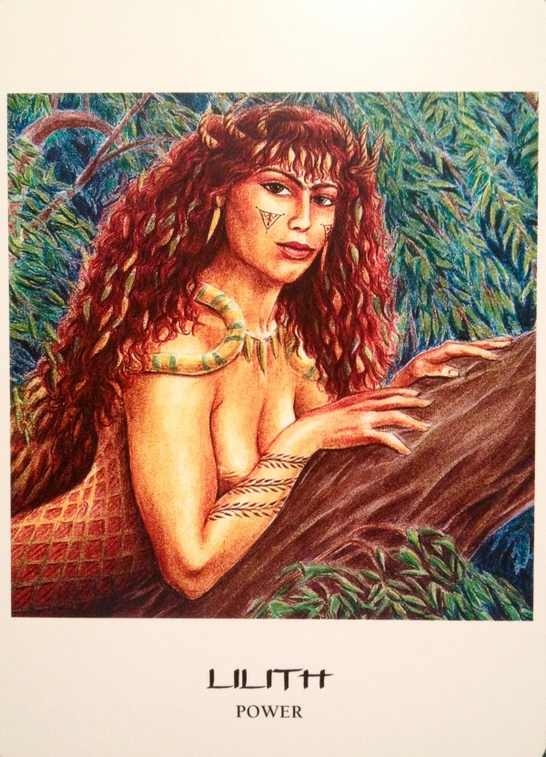 Lilith ~ Power, from the Goddess Oracle Card, by Amy Sophia Marashinsky and Hrana Janto