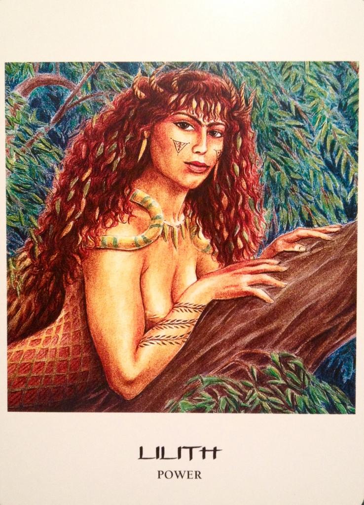 Lilith ~ Power, from the Goddess Oracle Card, by Amy Sophia Marashinsky and Hrana Janto