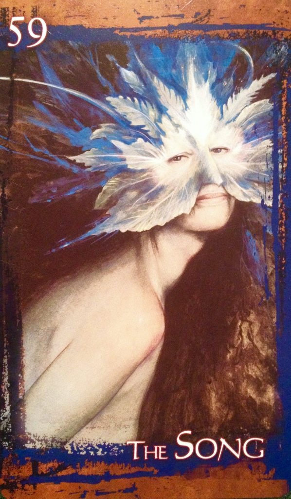 The Song, from the Heart Of Faerie Oracle Card deck, by Brian and Wendy Froud