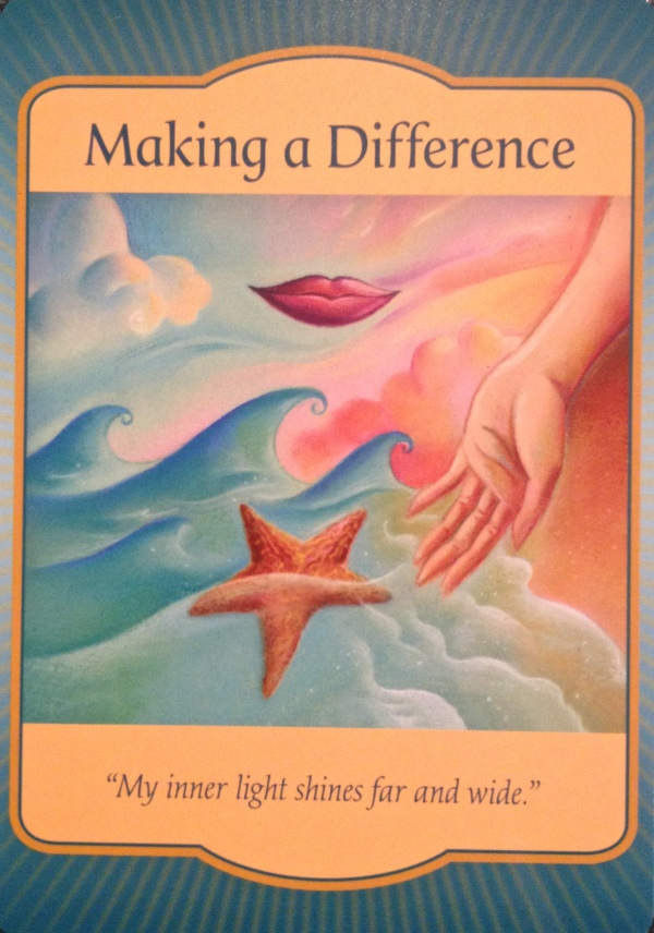 Making A Difference, from the Gateway Oracle, by Denise Linn