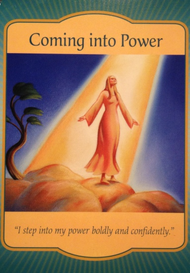 Image result for coming into power oracle cards