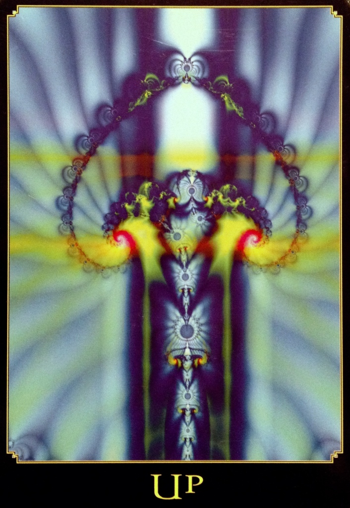 Up, from the Return Of Spirit Oracle Card deck, by Cheryl Lee Harnish