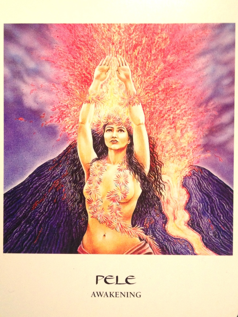 Pele ~ Awakening, from The Goddess Oracle, by Amy Sophia Marashinsky illustrated by Hrana Janto