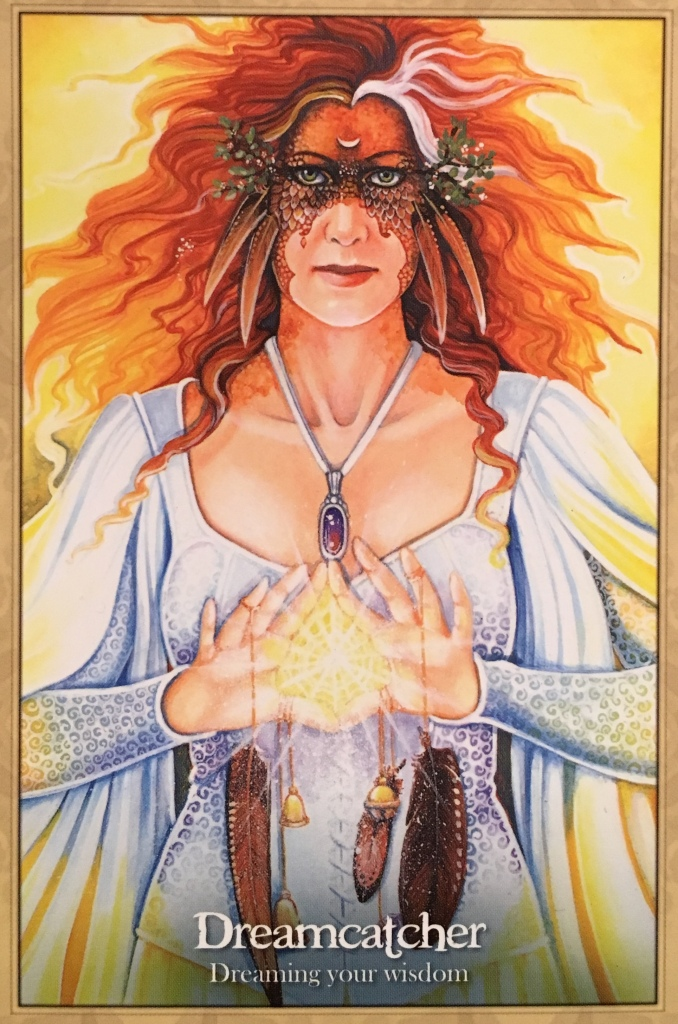 Dreamcatcher, from the Oracle Of The Dragonfae, by Lucy Cavendish