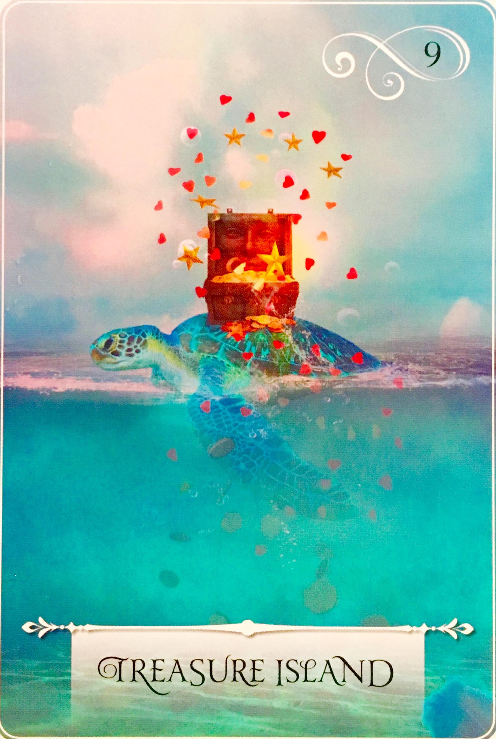 Treasure Island – Archangel Oracle