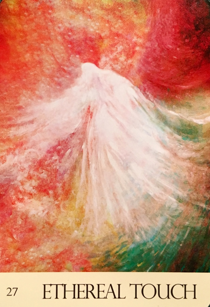 Ethereal Touch, from the Journey Of Love Oracle Card deck, by Alana Fairchild, Rassouli and Richard Cohn