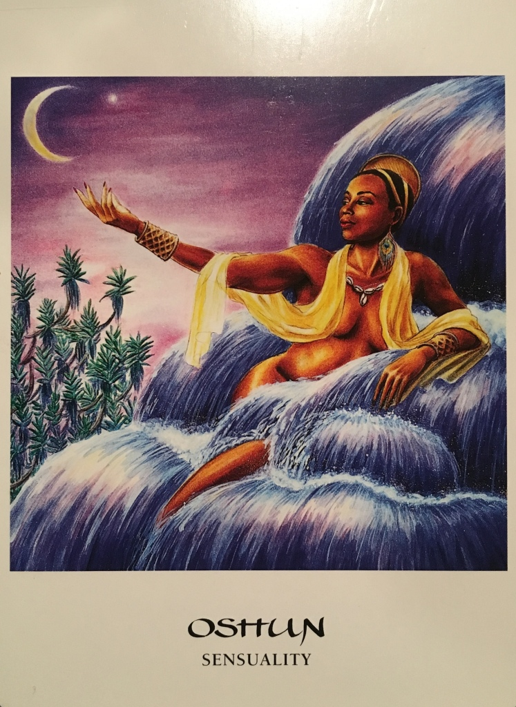 Oshun, from the Goddess Oracle, by Amy Sophia Marashinsky and Hrana Janto