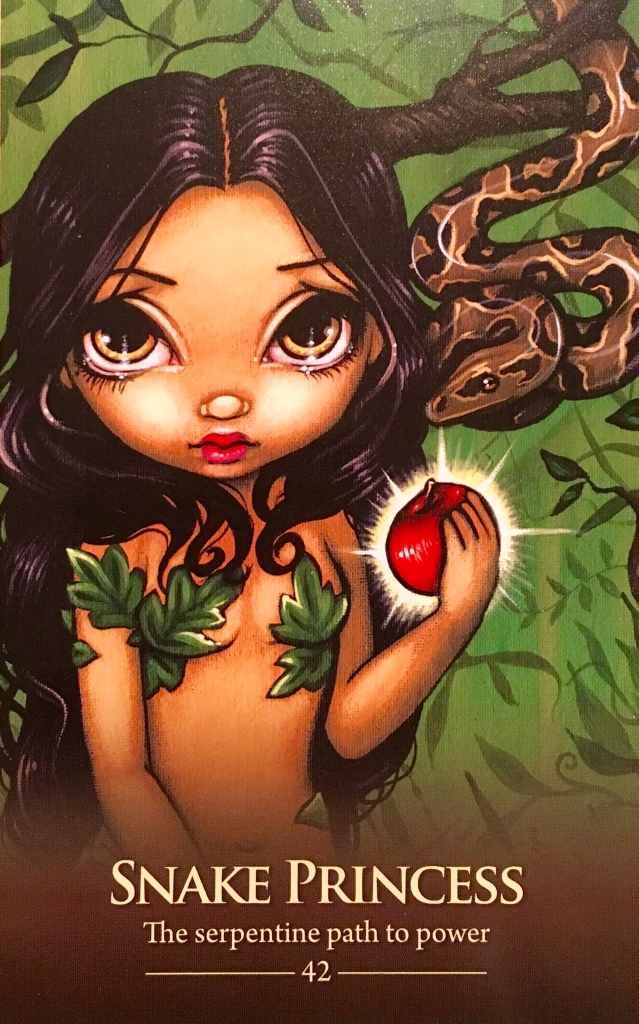 Snake Princess, from the Oracle Of This Shapeshifters, by Lucy Cavendish and Jasmine Becket-Griffith