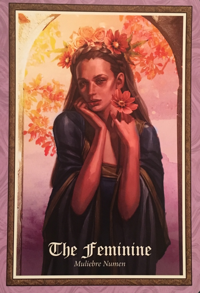 The Feminine ~ Muliebre Numen, from The Gospel of Aradia, by Stacey Demarco, Artwork by Jimmy Manton