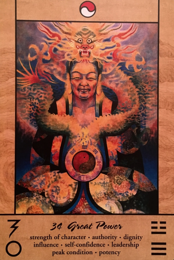 Great Power, from the Tao Oracle, by Ma Deva Padma