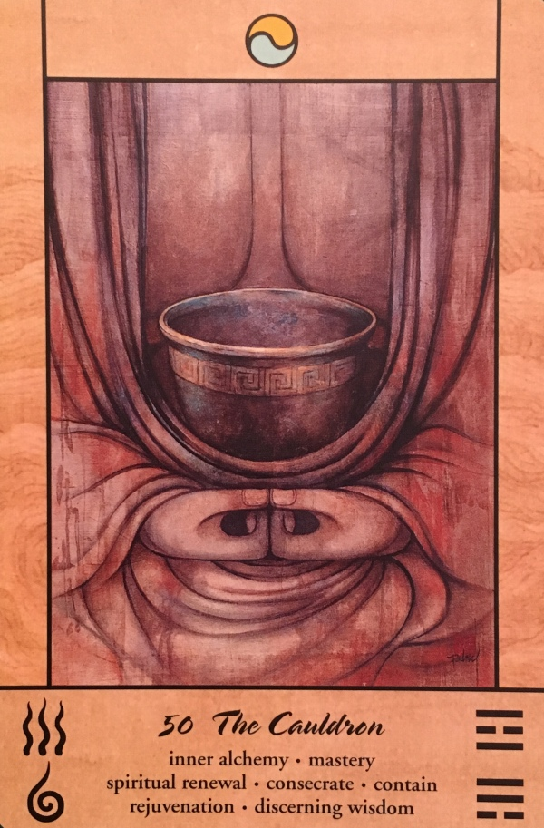 The Cauldron, from the Tao Oracle, by Ma Deva Padma