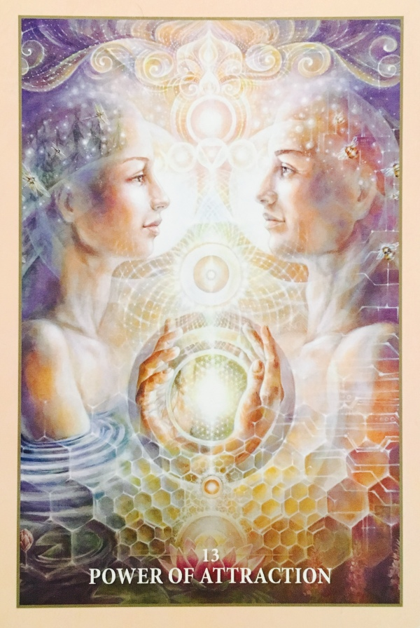 Power Of Attraction, from the Sacred Rebels Oracle Card deck, by Alana Fairchild, artwork by Autumn Skye Morrison