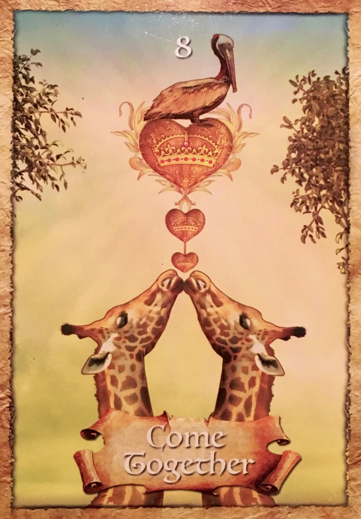 Come Together, from the Enchanted Map Oracle Card deck, by Colette Baron-Reid