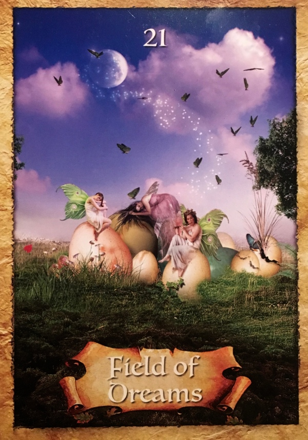 Field Of Dreams, from The Enchanted Map Oracle Card deck, by Colette Baron-Reid