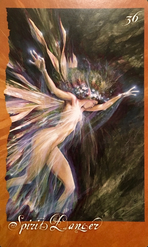 Spirit Dancer, from The Faeries' Oracle, by Brian Froud and Jessica MacBeth