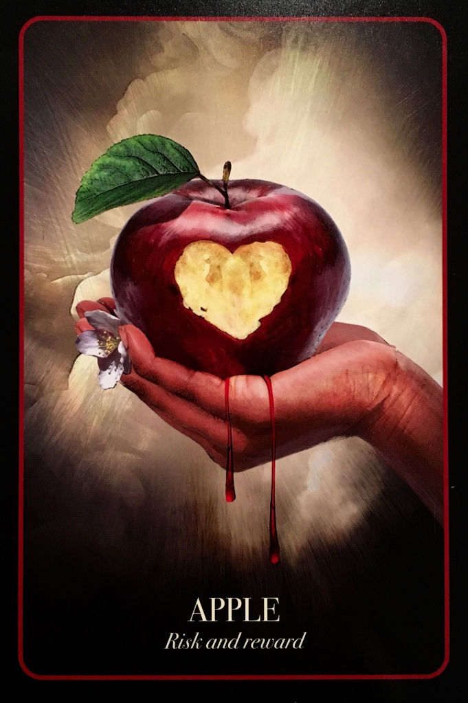 Apple, from The Halloween Oracle, by Stacey Demarco