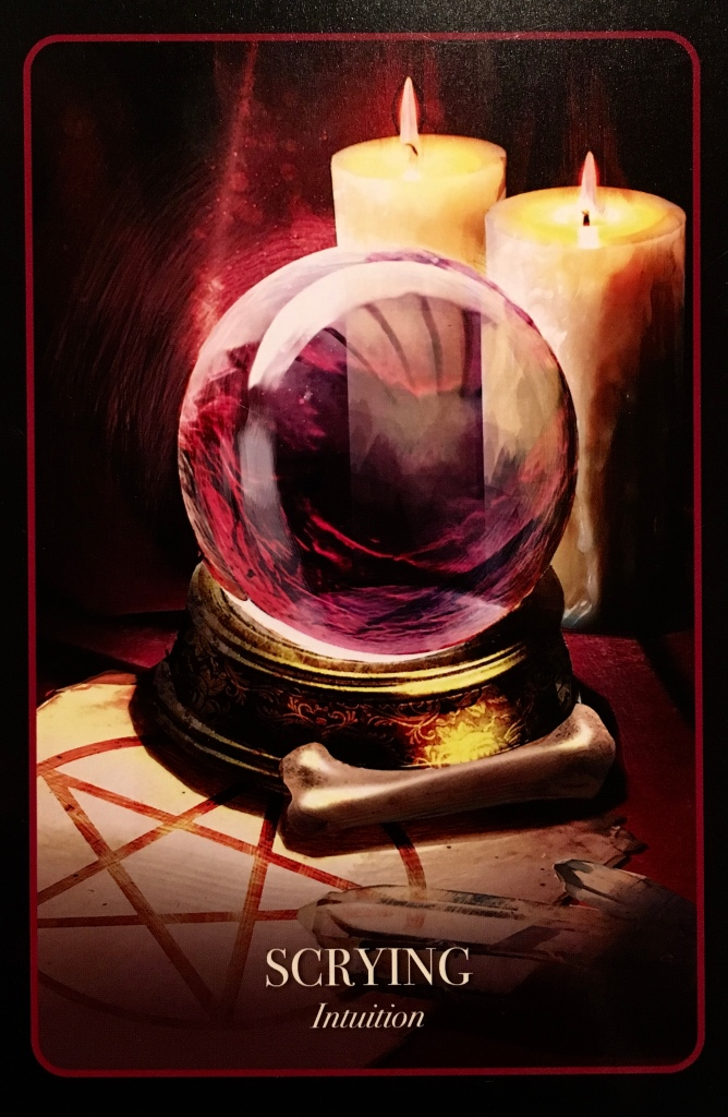 Scrying ~ Intuition, from The Halloween Oracle, by Stacey Demarco