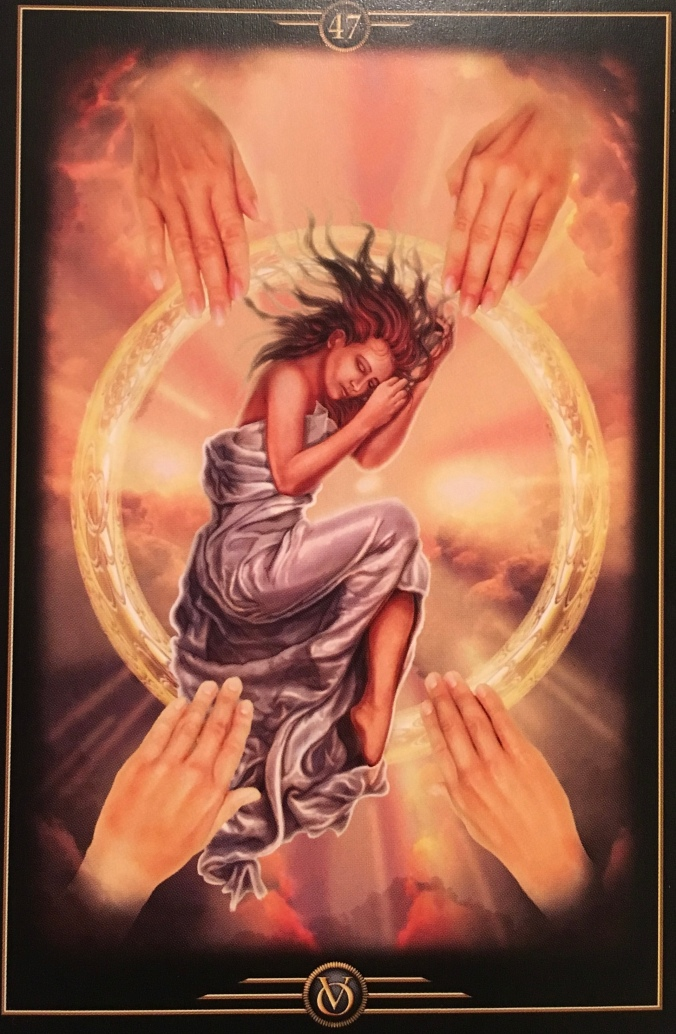 Healing, Caring, Friendships, from the Oracle Of Visions, by Ciro Marchetti