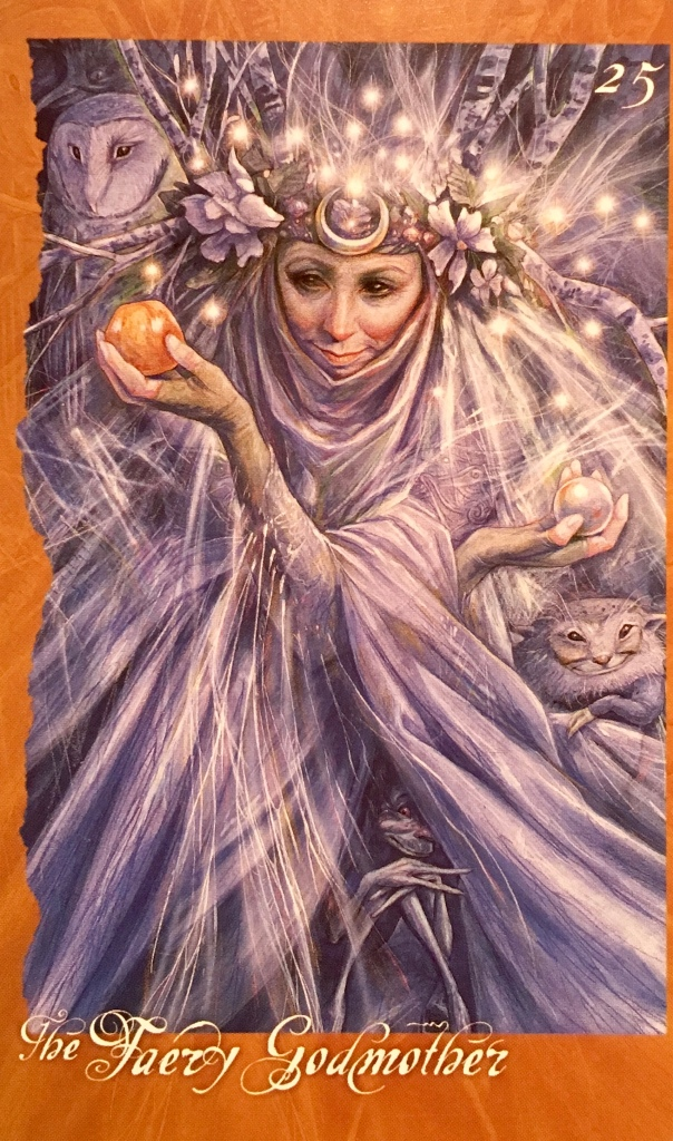 The Faery Godmother, from The Faeries' Oracle, by Brian Froud and Jessica MacBeth