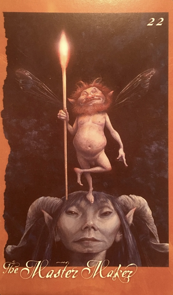The Master Maker, from The Faeries' Oracle, By Brian Froud and Jessica MacBeth
