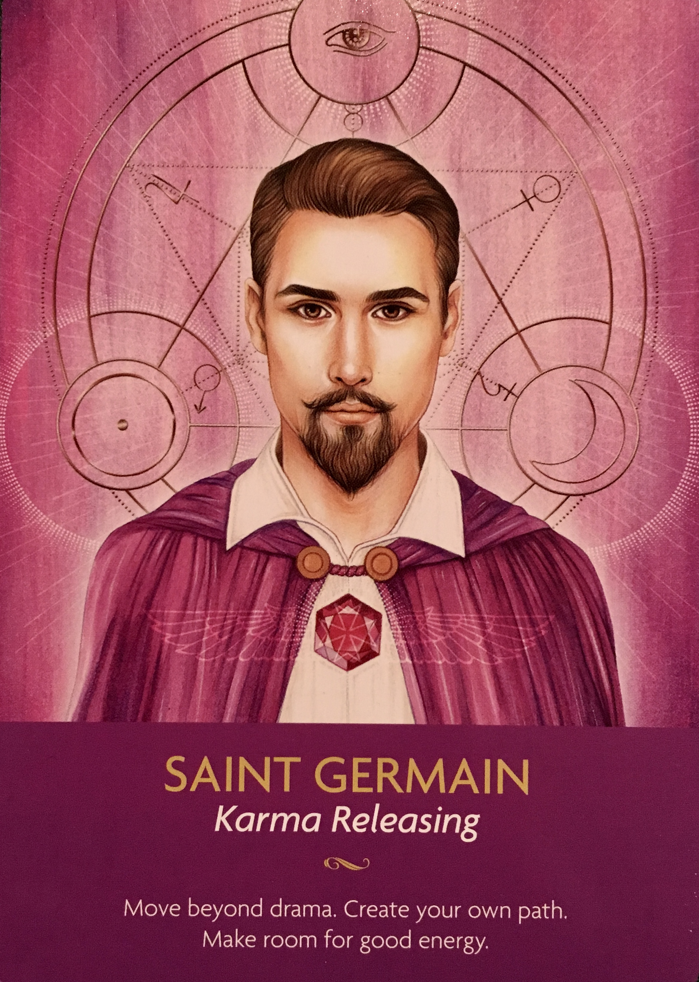 Saint Germain Archangel Oracle Divine Guidance