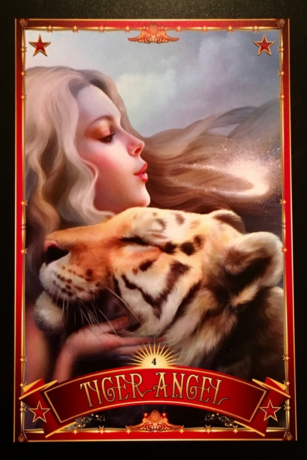 TIGER ANGEL - Archangel Oracle - Divine Guidance