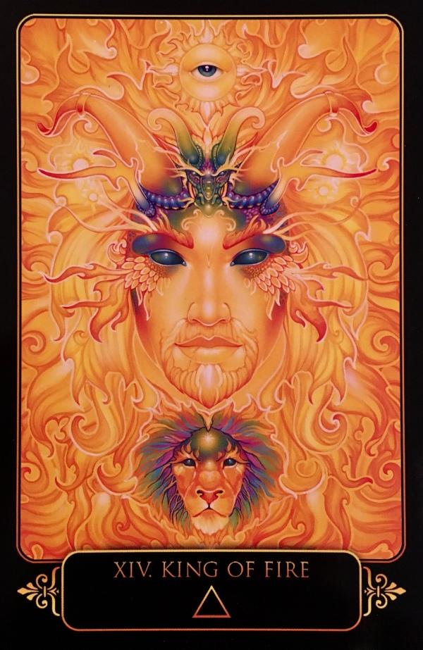 King Of Fire – Archangel Oracle