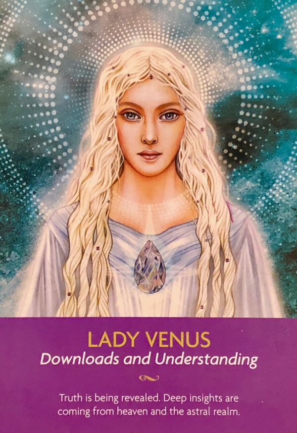 LADY VENUS - Archangel Oracle Divine Guidance
