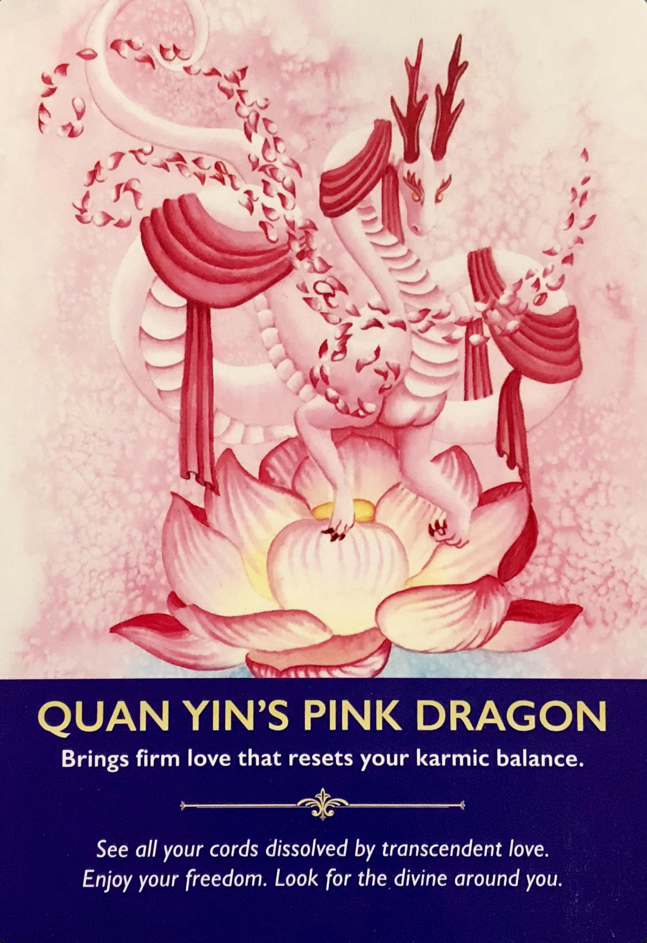 Quan Yin's Pink Dragon – Archangel Oracle