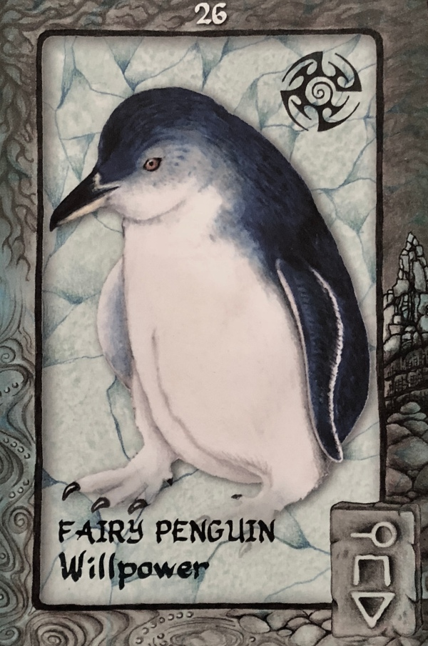 FAIRY PENGUIN - Archangel Oracle - Divine Guidance