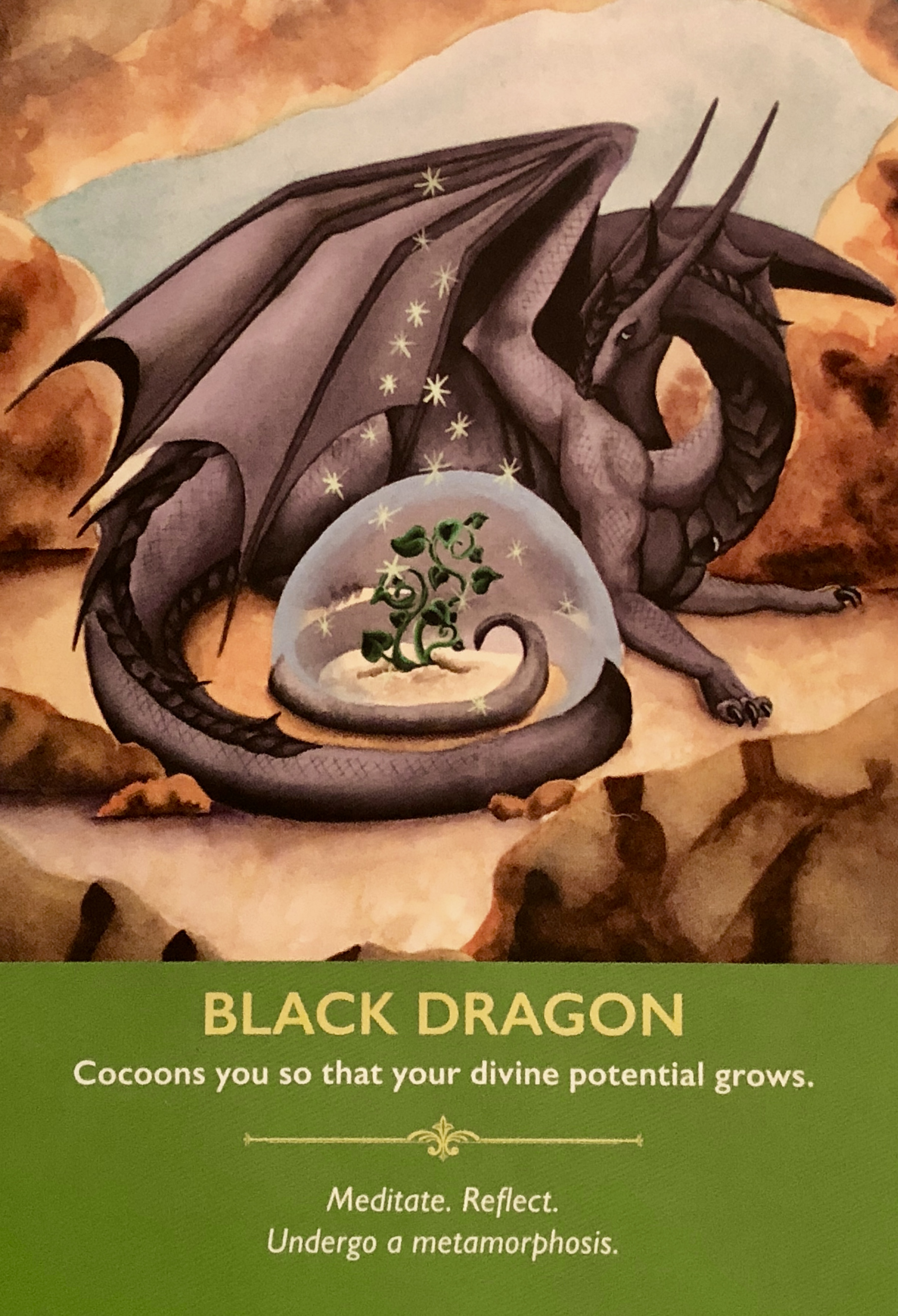 Black Dragon – Archangel Oracle