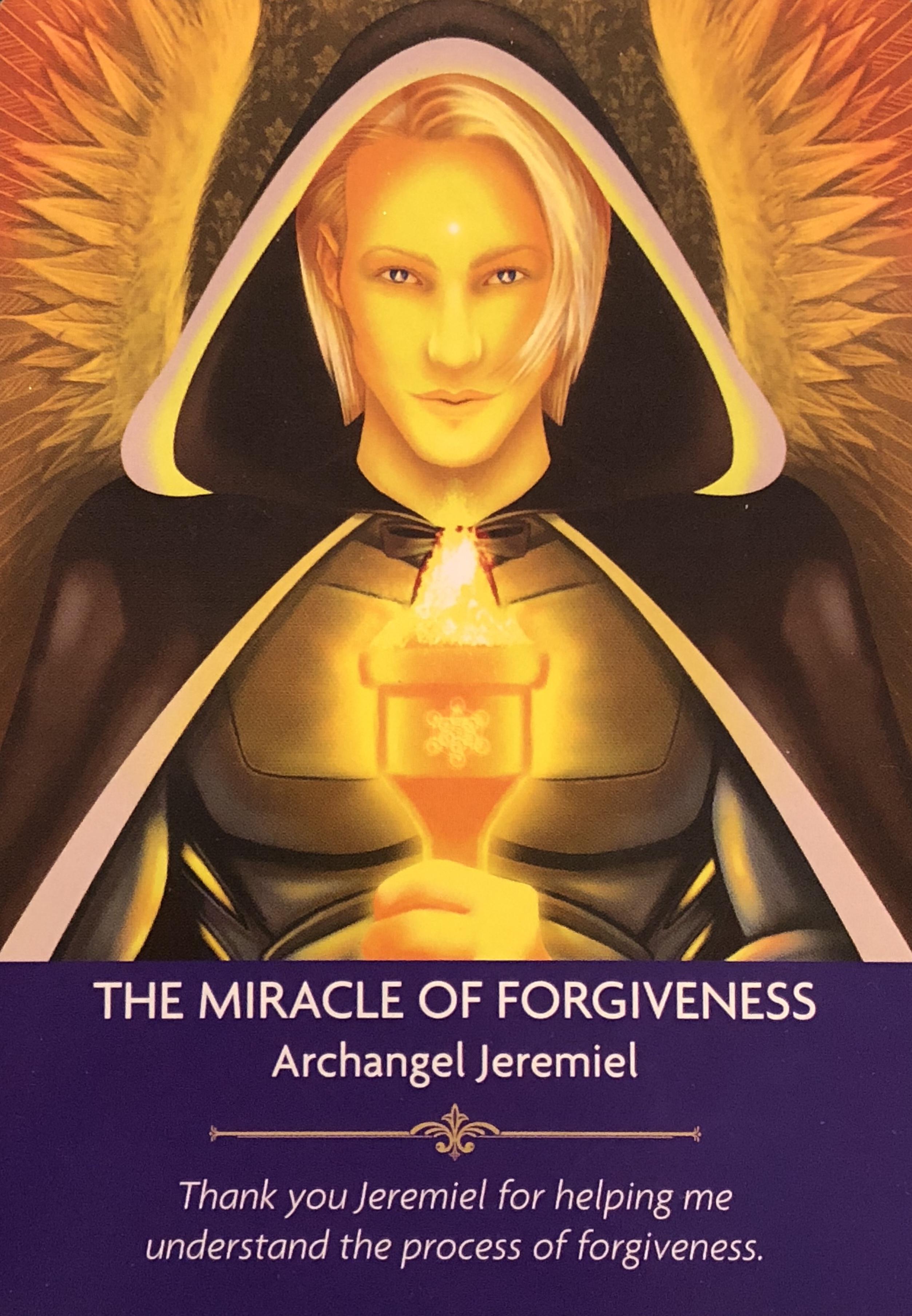 archangel jeremiel archangel oracle divine guidance