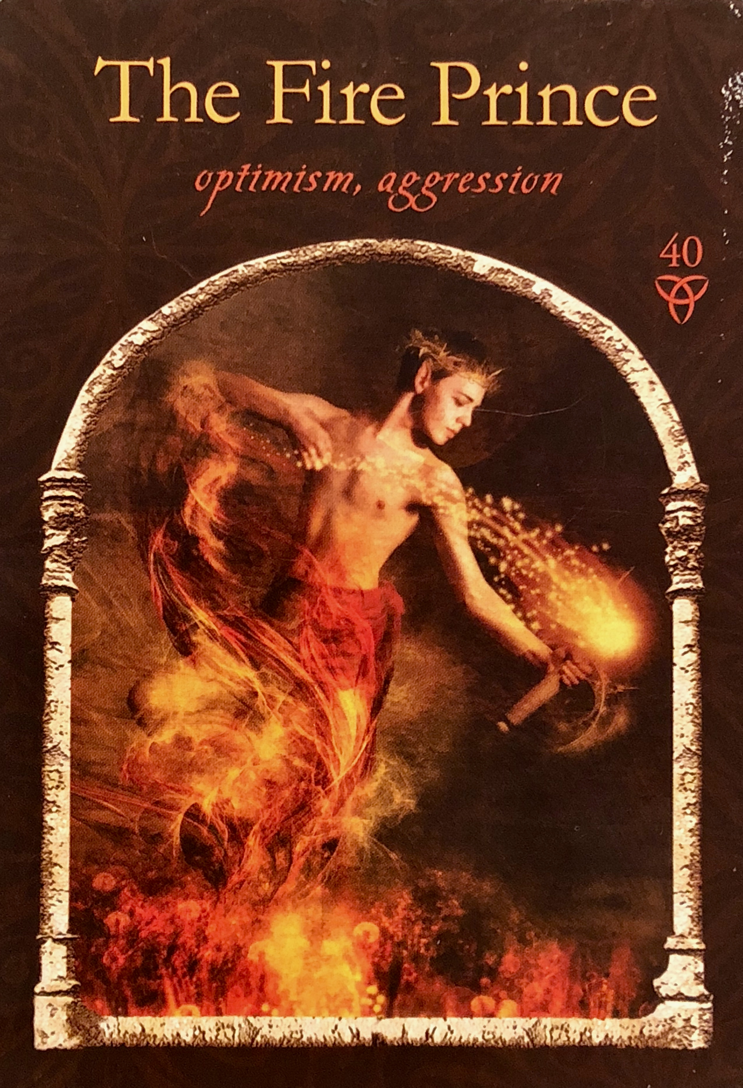 The Fire Prince Archangel Oracle